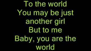 The World~Brad Paisley ( with lyrics )