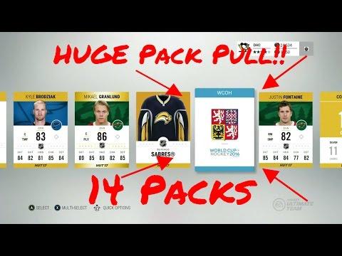 NHL 17 - More Huge Pack Pulls