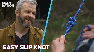 Make A Knot Vanish | The Essential Slip Knot