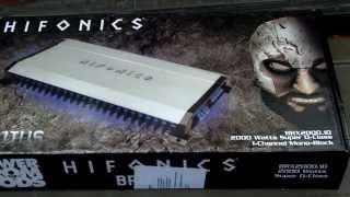 Hifonics Brutus BRX 2000.1D Unboxing