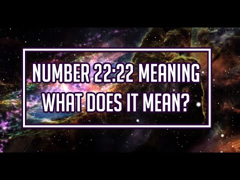 2222 meaning - The Significance of The Numbers 2222