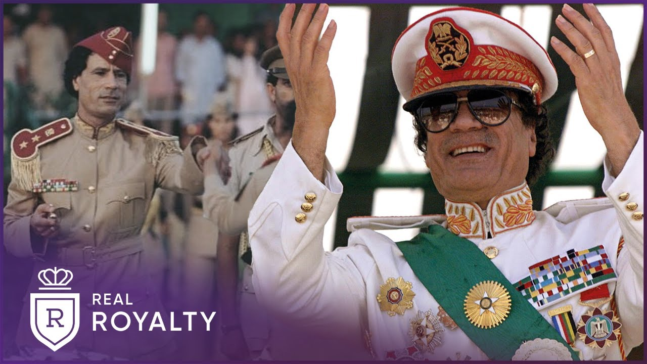 The Controversial Life Of Libya's Colonel Gaddafi   King Of Kings   Real Royalty with Foxy Games