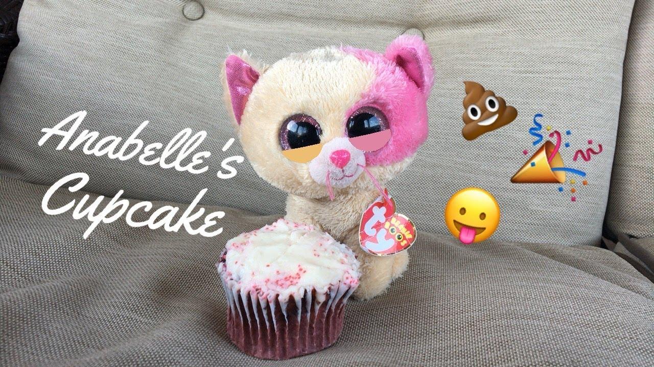 374d7db9d46 Beanie Boo s  Anabelle s Cupcake! - YouTube