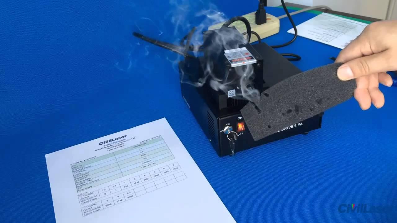 808nm 10w 10000mw Ir Dpss Laser Invisible Laser Beam