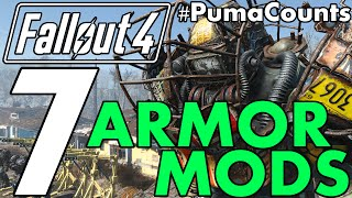 Top 7 Best Power Armor Mods for Fallout 4 So Far Redux #PumaCounts