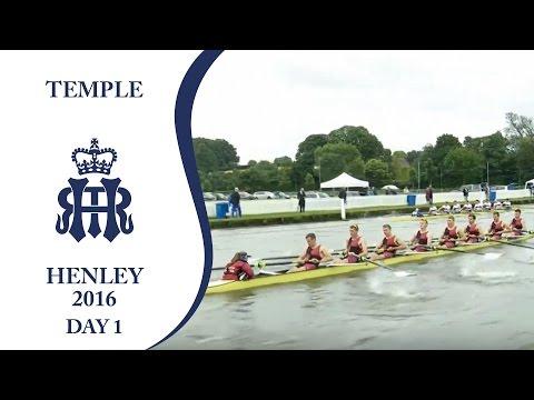 U. London 'A' v Bristol | Day 1 Henley 2016 | Temple