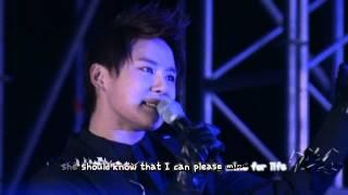 JYJ - Be My Girl (JS focus) [eng + karaoke sub]