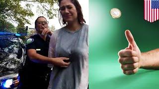 경찰관, 동전던지기로 속도위반운전자 운명 결정?