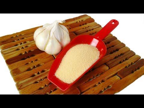 Как сделать порошок из чеснока