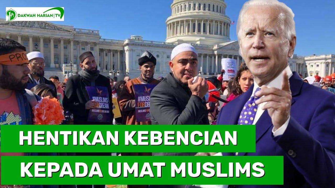 JOE BIDEN MINTA HENTIKAN KEBENCIAN PADA MUSLIMS