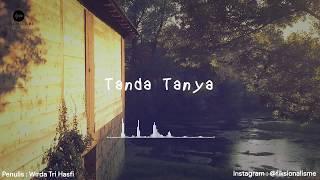 Tanda Tanya (Wirda Tri Hasfi)   Visualisasi Puisi