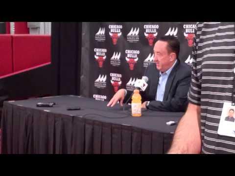 Chicago Bulls media day 2013: Gar Forman