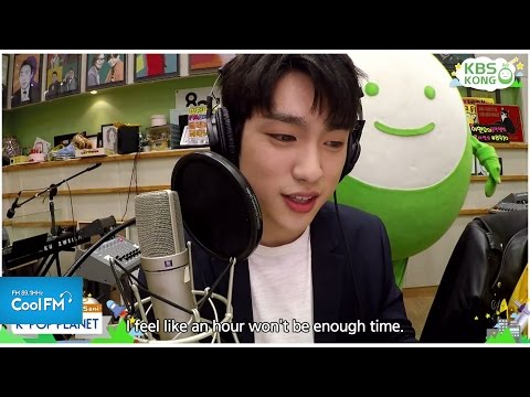 직캠 라디오 케이팝 플래닛 DJ되다 : 주니어 CAM / 160417[K-POP PLANET_ENG SUB]