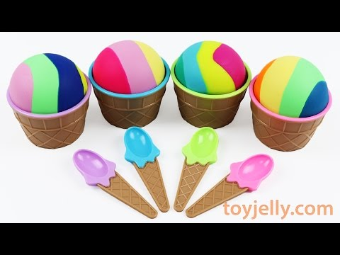 Thumbnail: Play doh Ice Cream Surprise Toys Sofia the First Disney Junior Peppa Pig Starwars Nursery Rhymes