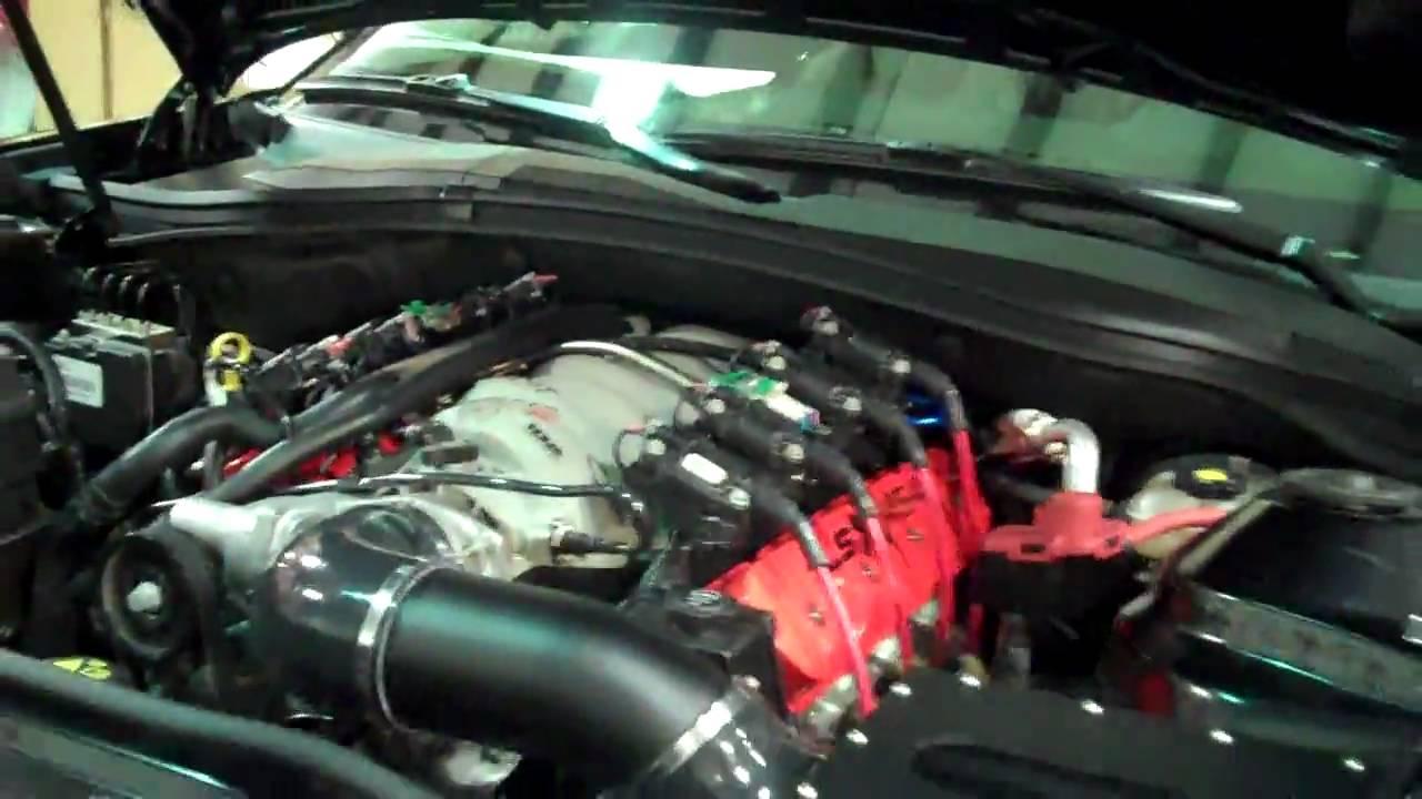 Worlds First LSX454 Powered 2010 Camaro! - Redline
