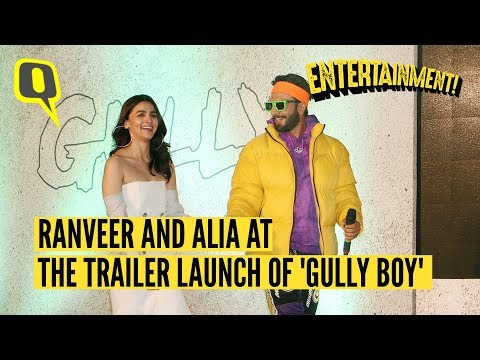 Ranveer Singh and Alia Bhatt at the 'Gully Boy' Trailer Launch Mp3