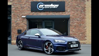 Audi RS5 Closeup Walkaround