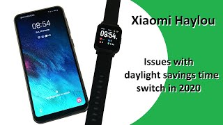 Xiaomi Haylou - Issues With Daylight Savings Time Switch In 2020, How To Rest
