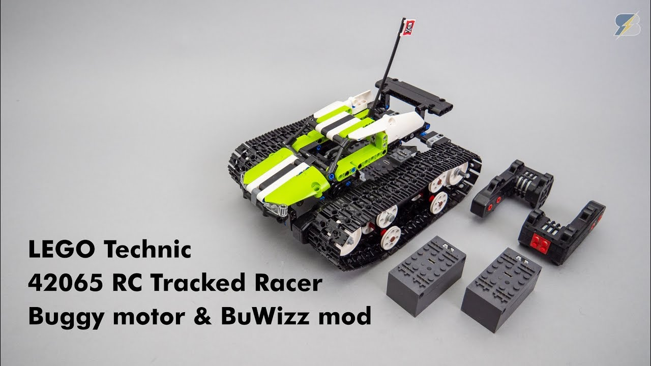 Lego Technic 42065 Rc Tracked Racer Buggy Motor Buwizz Upgrade With Free Instructions
