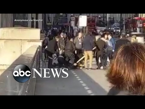 2 killed, 3 injured in terrorist attack on London Bridge   ABC News