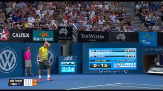 Juan Martin DEL POTRO (ARG) vs Bernard TOMIC (AUS) FINAL FULL MATCH Apia International Sydney 2014