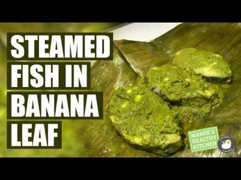 Steamed Fish In Banana Leaf
