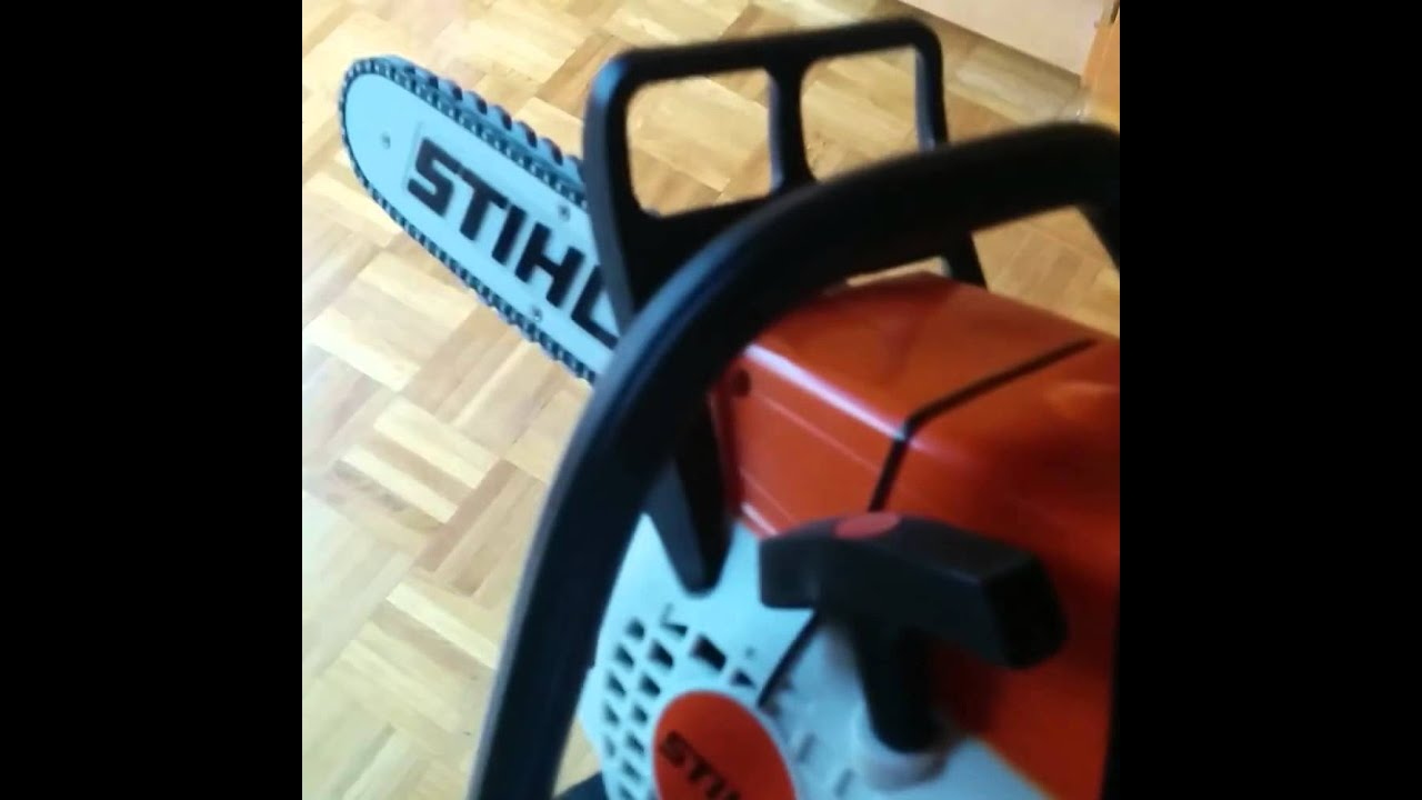 stihl kettens ge f r halloween youtube. Black Bedroom Furniture Sets. Home Design Ideas