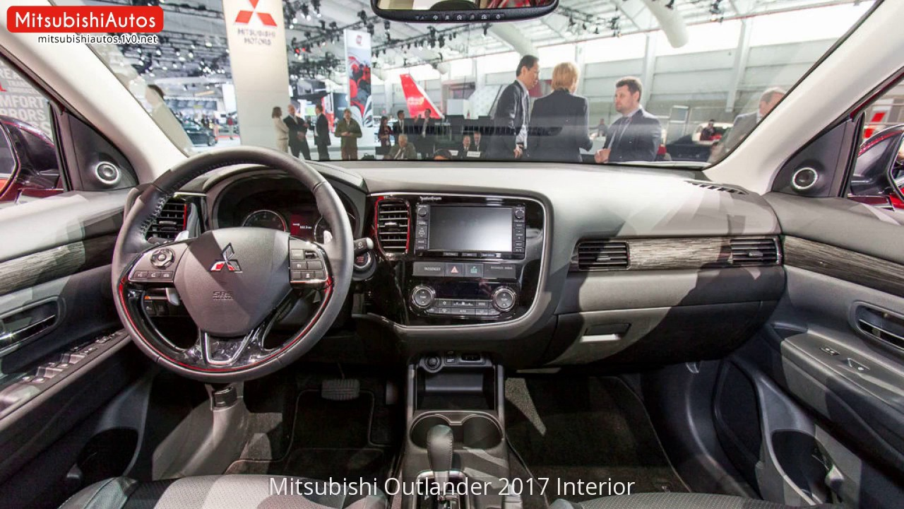 mitsubishi outlander 2017 interior youtube