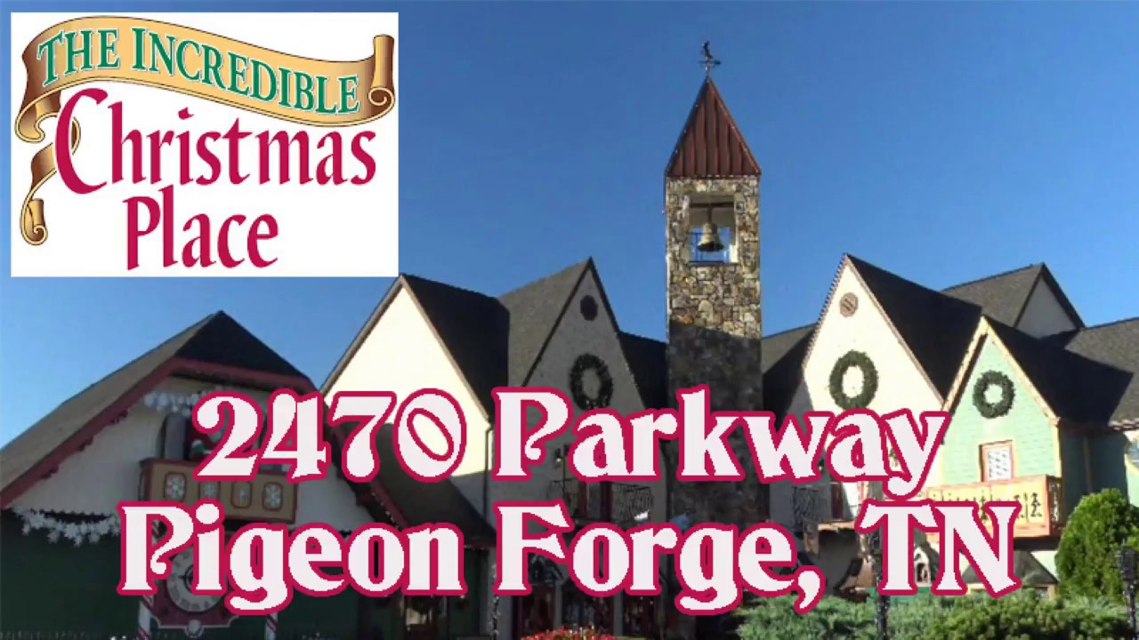 the incredible christmas place pigeon forge deals