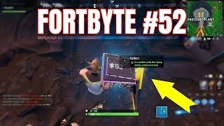 FORTBYTE #52 - ACCESSIBLE WITH BOT SPRAY INSIDE A ROBOT FACTORY | Fortnite |