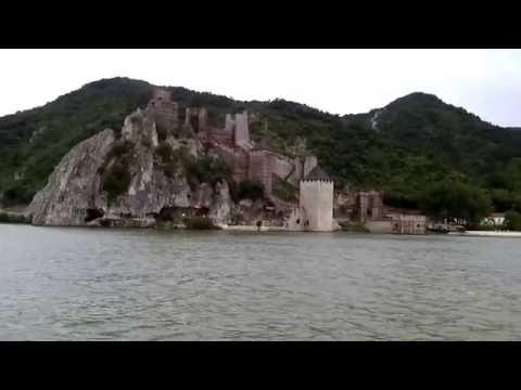 Burg Golubac, Donau, Serbien; Windmühlen Rumänien; Video 4,04 Min., 16.06.2016