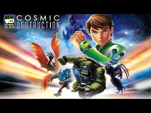 Ben 10 Ultimate Alien Cosmic Destruction Walkthrough Gameplay Complete Game