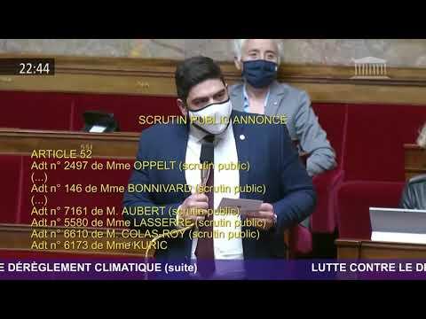PJL Climat - interventions en hémicycle
