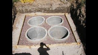 Септик на глинистом участке. Как правильно сделать септик. Часть 1
