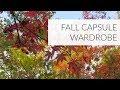FALL CAPSULE WARDROBE | Project 333
