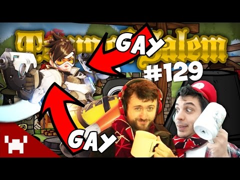 TRACER IS GAY! (Town of Salem DUO CAM w/ Ze & Chilled Ep. 129)