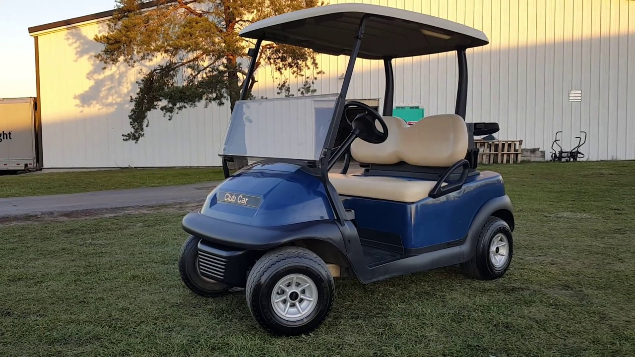 2012 Club Car Precedent Golf Cart For Sale Excellent Condition Youtube