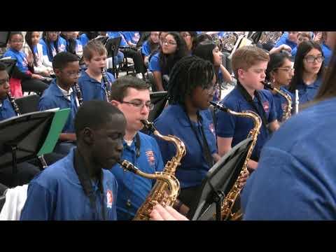 Trickum Middle School Jazz Band Premier Concert