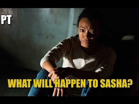 The Walking Dead Season 7 Episode 15 What Will Happen To Sasha? TWD 715