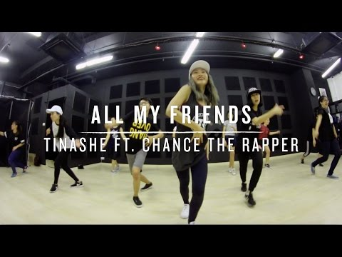All My Friends (Tinashe ft. Chance The Rapper) | Step Choreography