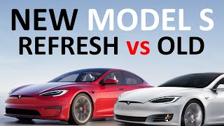 NEW REFRESHED 2021 Tesla Model S vs OLD Model S: What has IMPROVED?