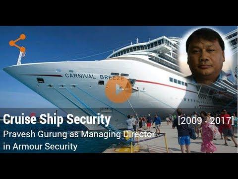 Career In Cruise Ship Security By Pravesh Gurung Managing - Career at cruise ship