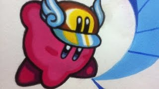 Drawing Cutter Kirby! Time Lapse Painting