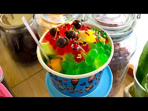 BANGKOK STREET DESSERT | Thai Snow Cones (Shaved Ice Cream) Mp3