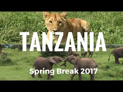 Tanzania Service Trip - Spring Break 2017