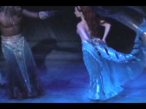 The Little Mermaid Broadway - The World Above (Reprise) Live