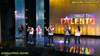 Colombia Tiene Talento 2T   SIX TO ONE
