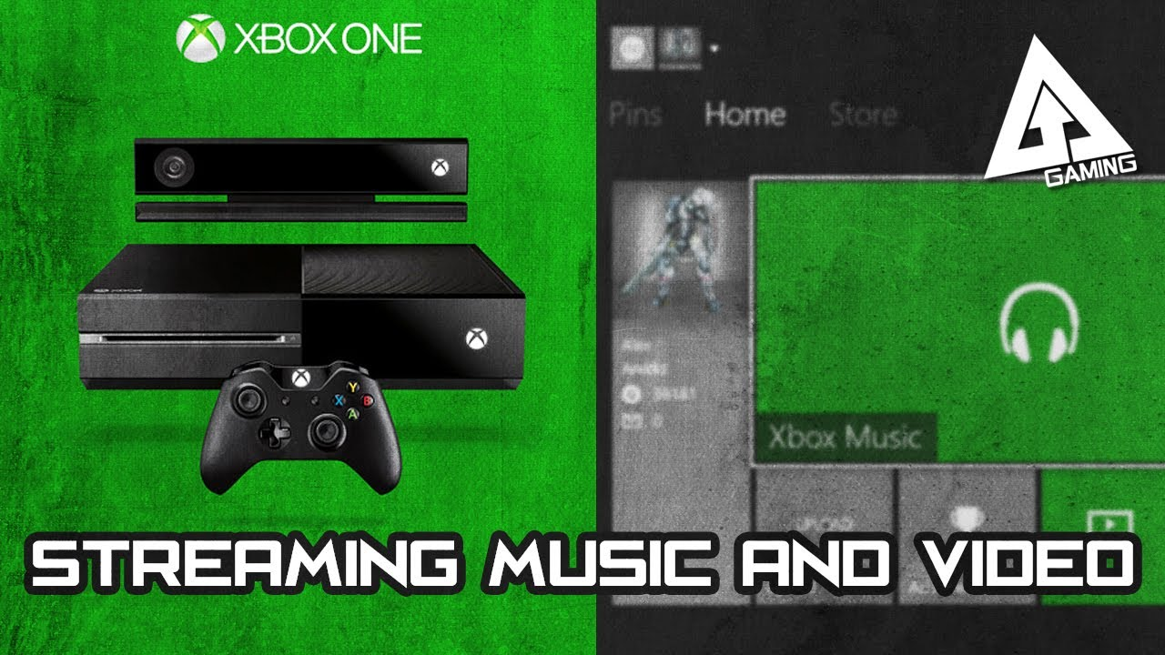 how to play music from pc on xbox one