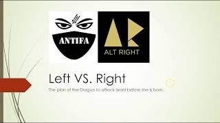 AltLeft versus AltRight - Civil War and Israel