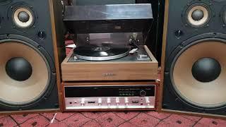 Bộ sp nghe nhạc trữ tình nhạc xưa quá hay đôi loa pionner cs 911a ghép amly samsui 5000x đĩa than